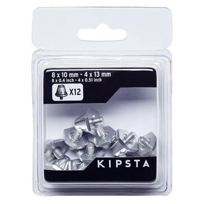 Алюмінієві шипи для футбольних бутсів, 10-13 мм - Сріблясті