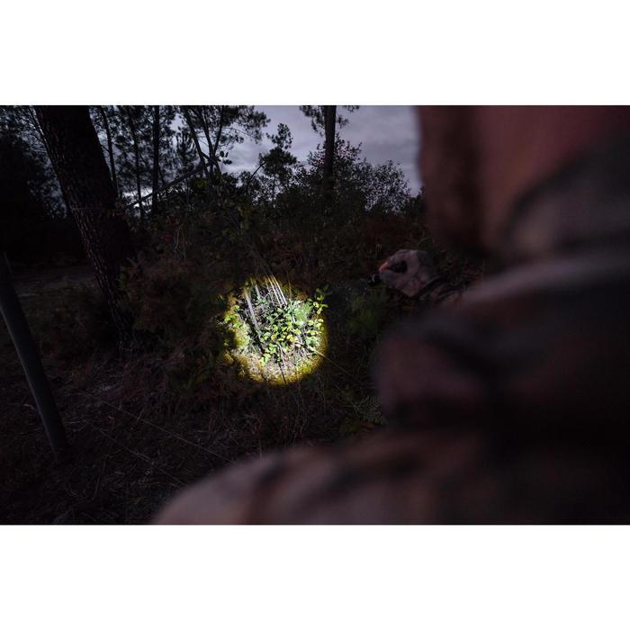 Lampe Torche Chasse 100 Lumens Zoom Noir