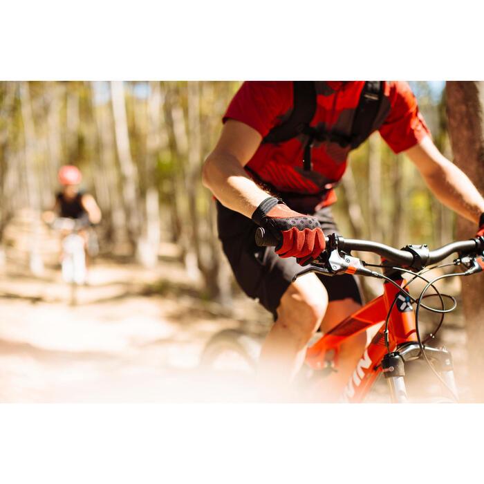Fahrradhandschuhe MTB XC rot