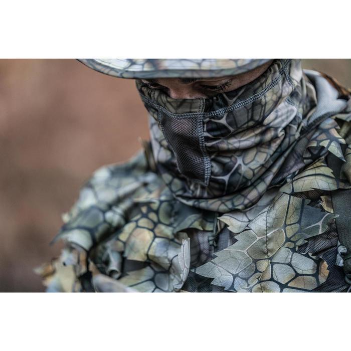 Ademende camouflage nekwarmer voor de jacht 500 Furtiv