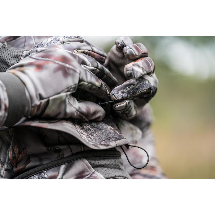 Chapeau chasse Respirant BGS500D Camouflage Actikam Brown - 1293497