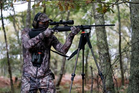 Hunting Cap 100 - Woodland Camouflage