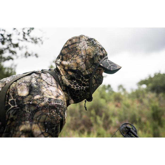 Jagd-Regenjacke Geräuscharm 500 Furtiv