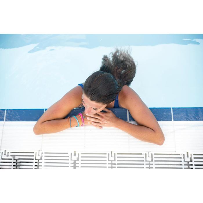 Maillot de bain de natation femme une pièce Heva bleu - 1293567