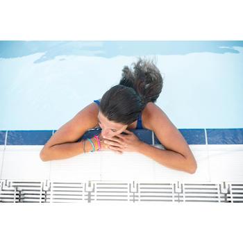 Maillot de bain de natation femme une pièce Heva bleu