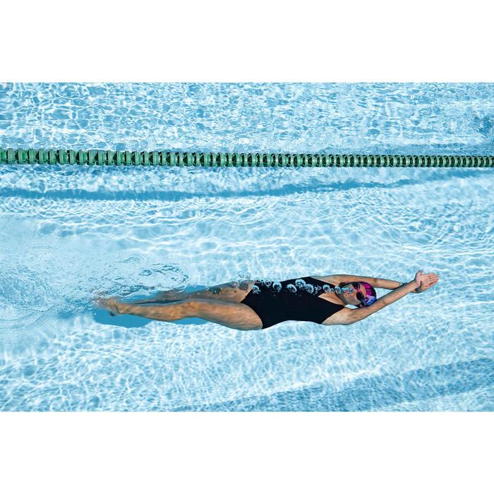 Maillot de bain de natation femme gainant 1 pièce Kaipearl New noir