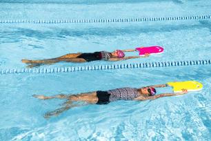 beginner swimmer