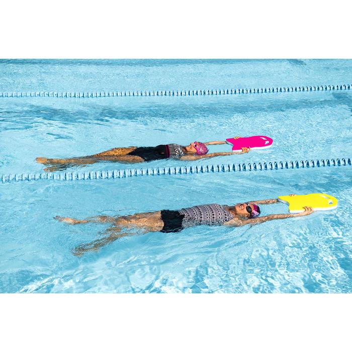 Bañador de natación una pieza mujer Loran Negro Kal Rosa