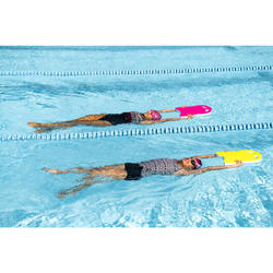 Zwembadpak voor dames Loran zwart/roze