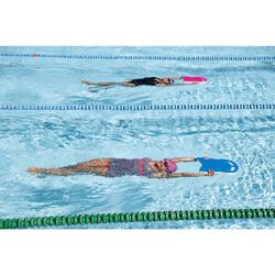 Maillot de bain de natation femme gainant une pièce Kaipearl skirt blanc
