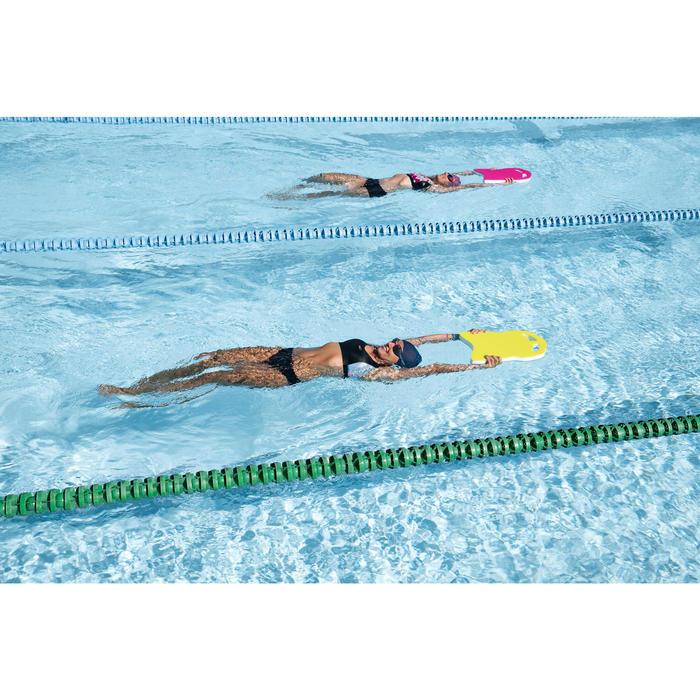 Haut de maillot de bain de natation femme  Vega Pop noir rose