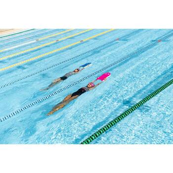 Maillot de bain de natation une pièce femme Loran corail - 1293591