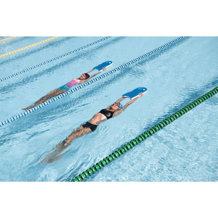 Damesbadpak Riana Pool blauw/roze