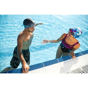 Drijvende neusknijper zwemsport blauw
