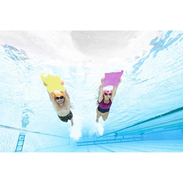 Lange zwemshort voor heren Swimshort 190 All Dry kaki