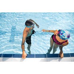 Drijvende neusknijper zwemsport oranje/roze