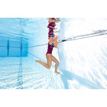Bañador de natación moldeador una pieza para mujer Kaipearl Triki Violeta