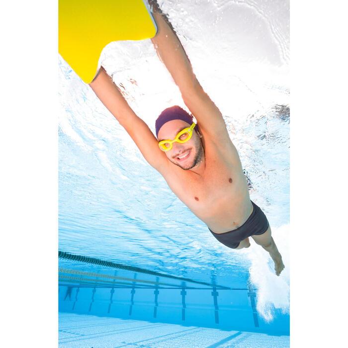 Zwemboxer voor heren 100 Basic grijs