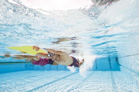 Masque de natation 100 SWIMDOW Taille G noir bleu