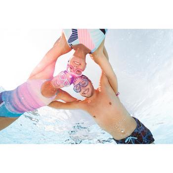 Masque de natation 100 SWIMDOW Taille L Noir Bleu