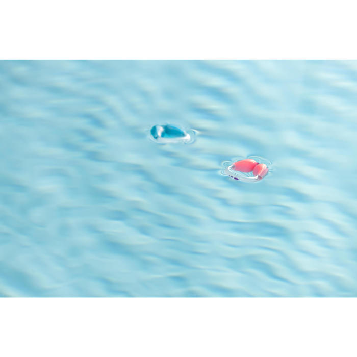 Pinzas Nariz Piscina Natación Nabaiji Azul Flotantes