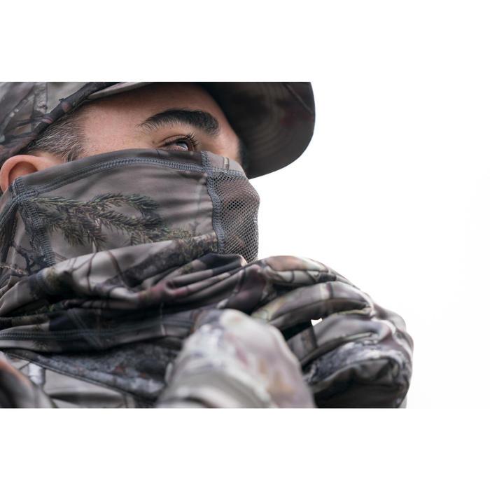 Tour de Cou chasse Respirant 500 CAMO FORET