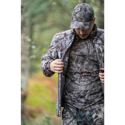 CASQUETTE CHASSE 100 CAMOUFLAGE FORET