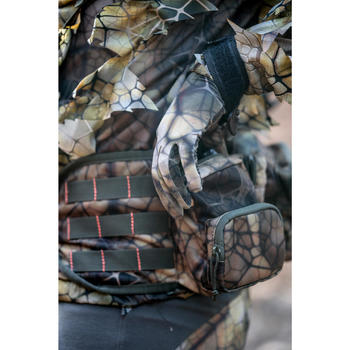 Camouflage handschoenen voor de jacht 100 Furtiv