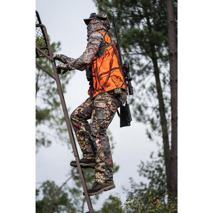 Gilet chasse Compact fluo - 1293652