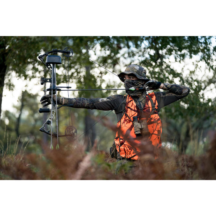 Gilet chasse Compact fluo - 1293653