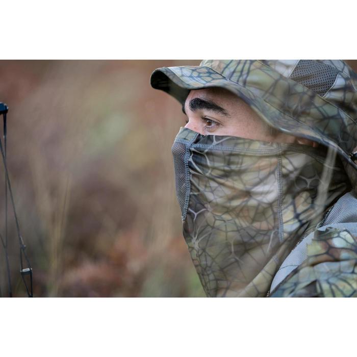Tour de Cou chasse Respirant 500 CAMOUFLAGE FURTIV