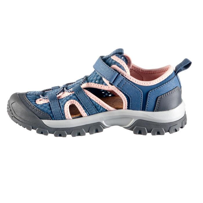 Sandalen NH900 Kinder grau/rosa
