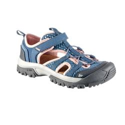 MH150 Kids' Hiking Sandals - Grey/Pink