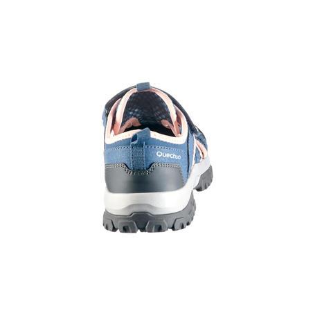 MH150 Kids' Hiking Sandals - Grey/Pink