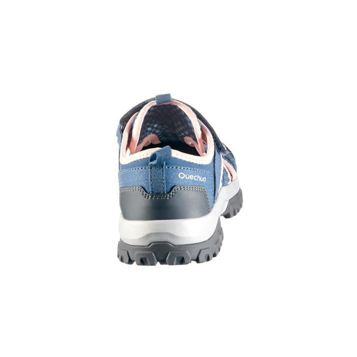 Sandalias de senderismo júnior MH150 JR gris/rosa