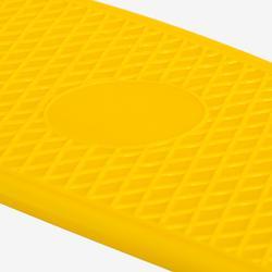 Mini-Skateboard Kunststoff Kinder gelb