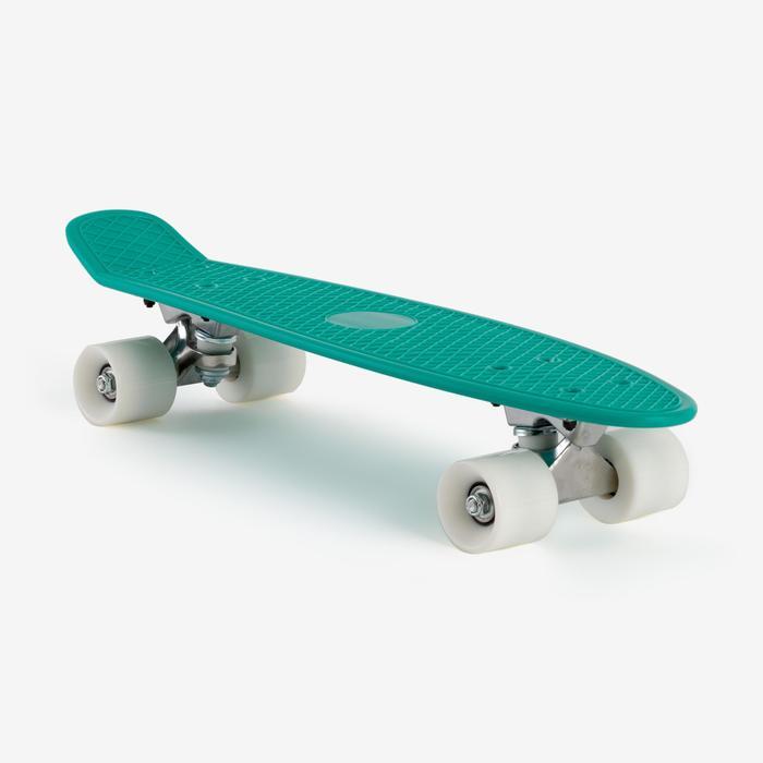 Mini skateboard niño PLÁSTICO verde
