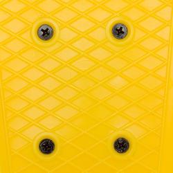Mini skateboard niño PLÁSTICO amarillo