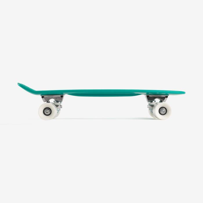 Mini-Skateboard Kunststoff Kinder grün