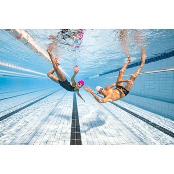 Maillot de bain de natation une pièce fille résistant au chlore Kamiye + bleu