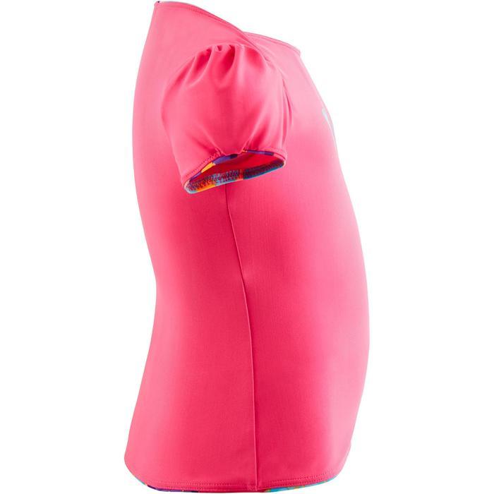 """Maillot de bain bébé fille tankini top rose avec imprimé """"papillons"""" - 1293854"""