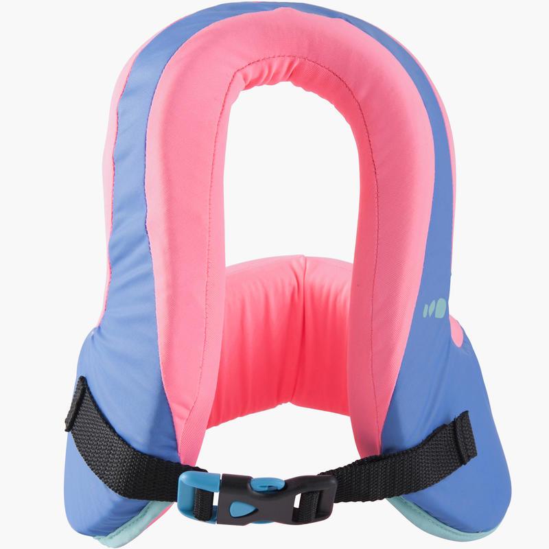 Chaleco de natación SWIMVEST+ azul-rosa