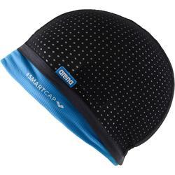 Badmuts Smart Cap zwart/blauw