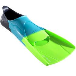swim fins short - tricolor