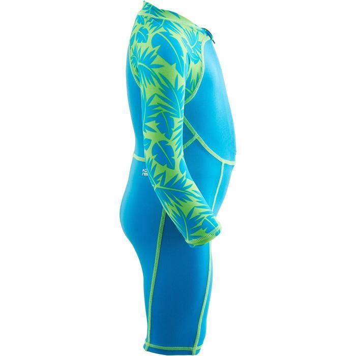 """Shorty swim bébé manches longues bleu et vert imprimé """"Monkey"""" - 1293935"""