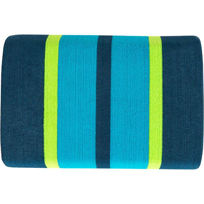 Pullbuoy zwemmen 500 maat L blauw groen