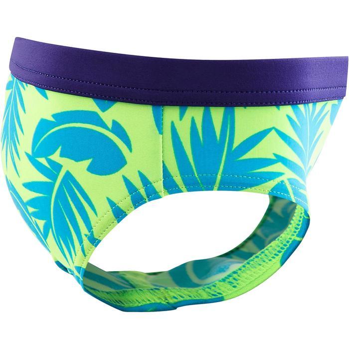 Zwemslip voor peuters Captain all palm groen