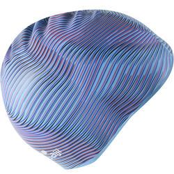 SILICONE 500 PRINT SWIM VIB BLUE