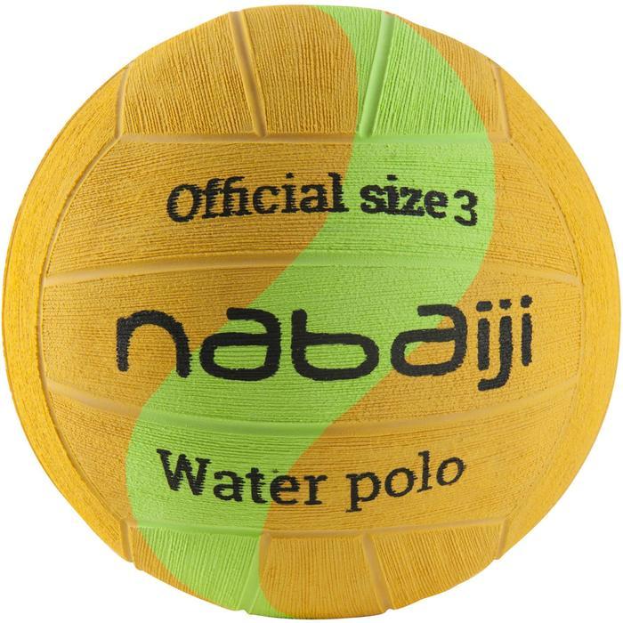 BALLON WATER POLO TAILLE 3 JAUNE VERT - 1293991