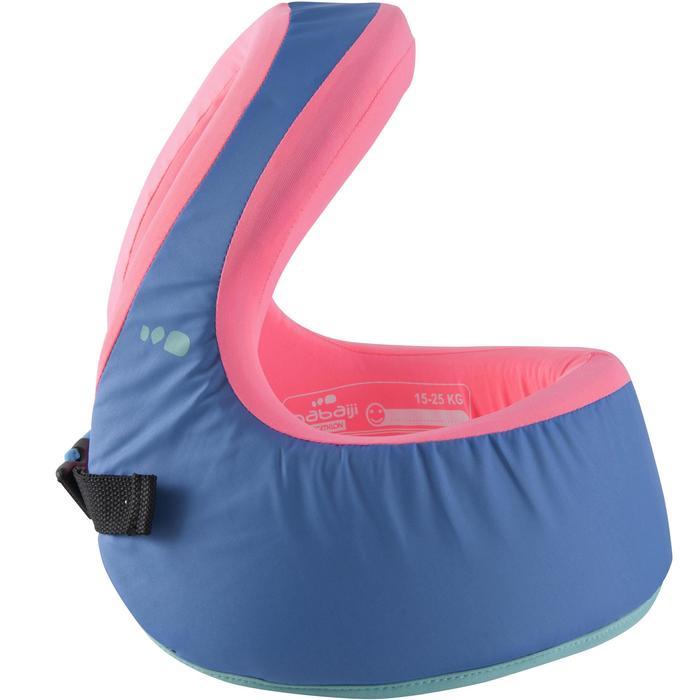 Gilet de natation SWIMVEST+ bleu-rose - 1293997